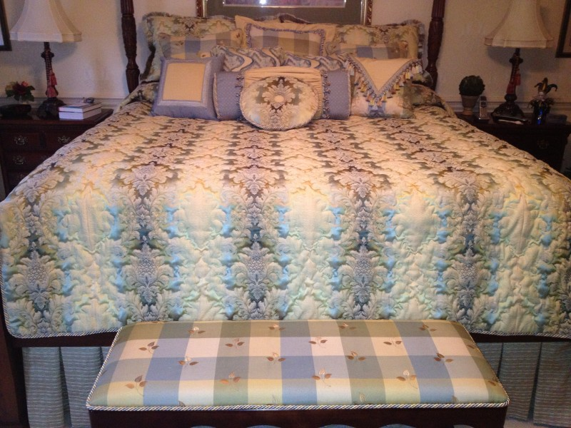 Custom Bedding Portfolio