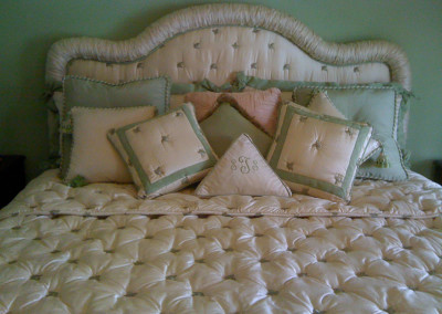 Headboard Shirred
