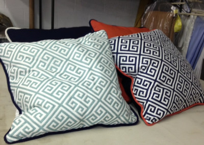 Pillows with cord