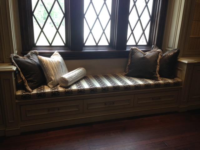 Custom Pillows Seat Cushions Brewer Quilt Design
