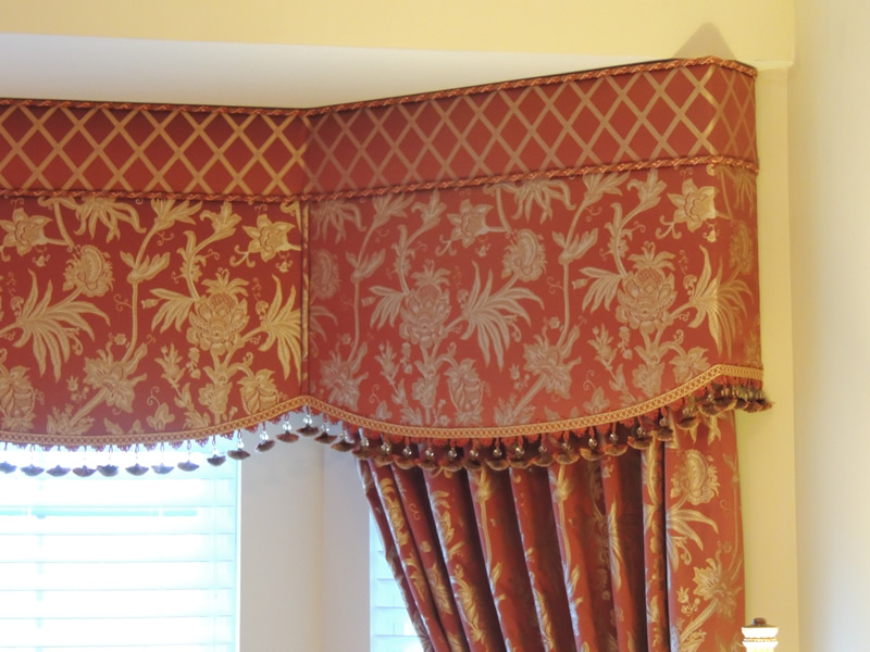 Cornice Window Treatment Portfolio