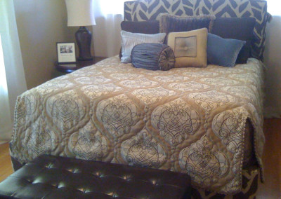 coverlet split corners