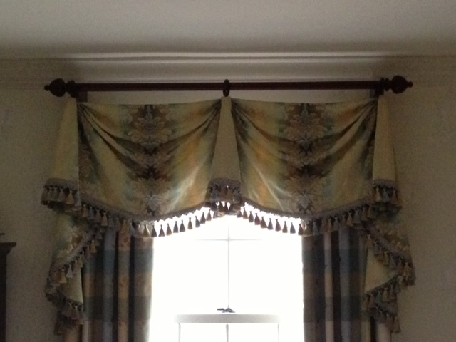 curtains sheer with attached inch lace pocket valance amazing rod attach